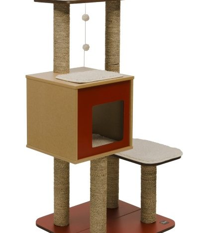 Wooden Cat Tree