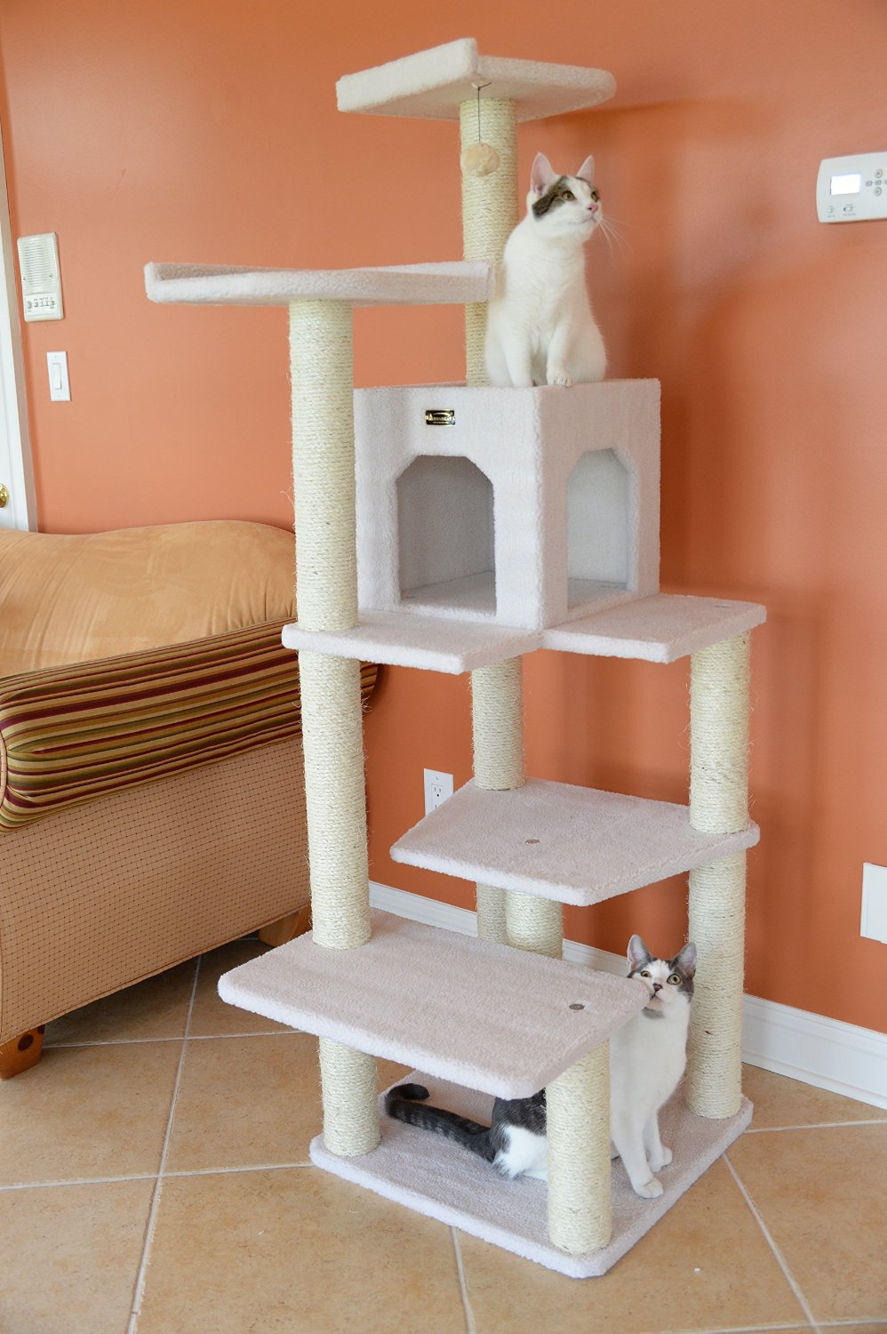 Great Armarkat Cat Tree Furniture Condo