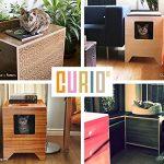 CURIO Modern Cat Litter Box in Maple