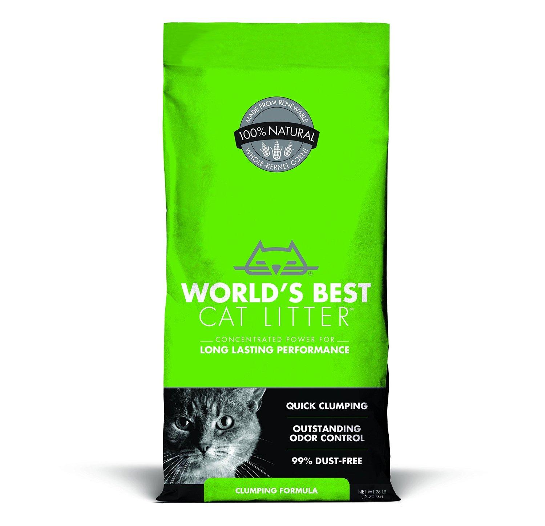 WORLD'S BEST CAT LITTER Clumping Litter Formula 28-Pound