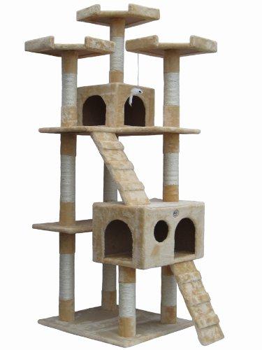 """Go Pet Club 72"""" Cat Tree Condo Furniture"""