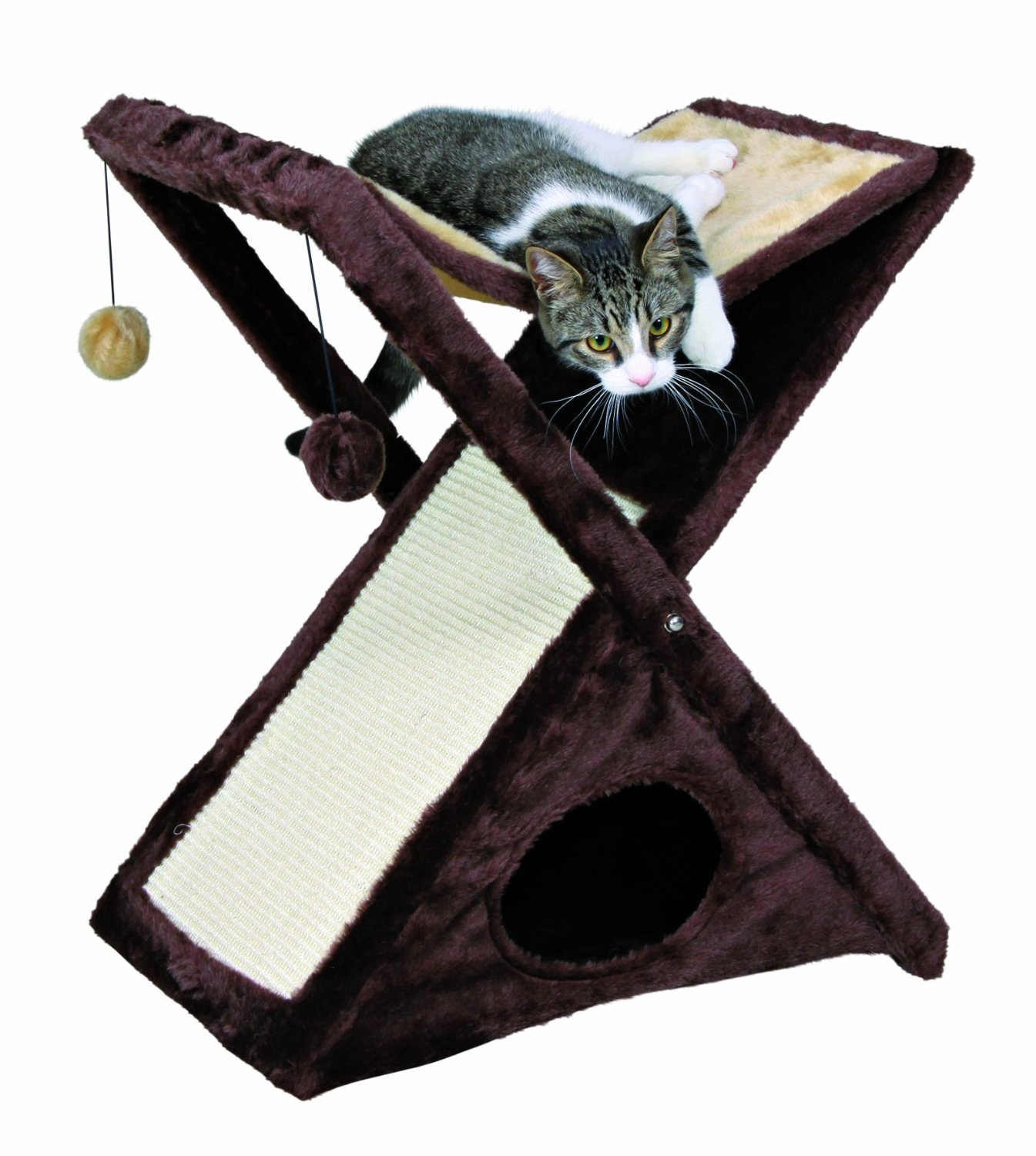Miguel Fold and Store Cat Tower