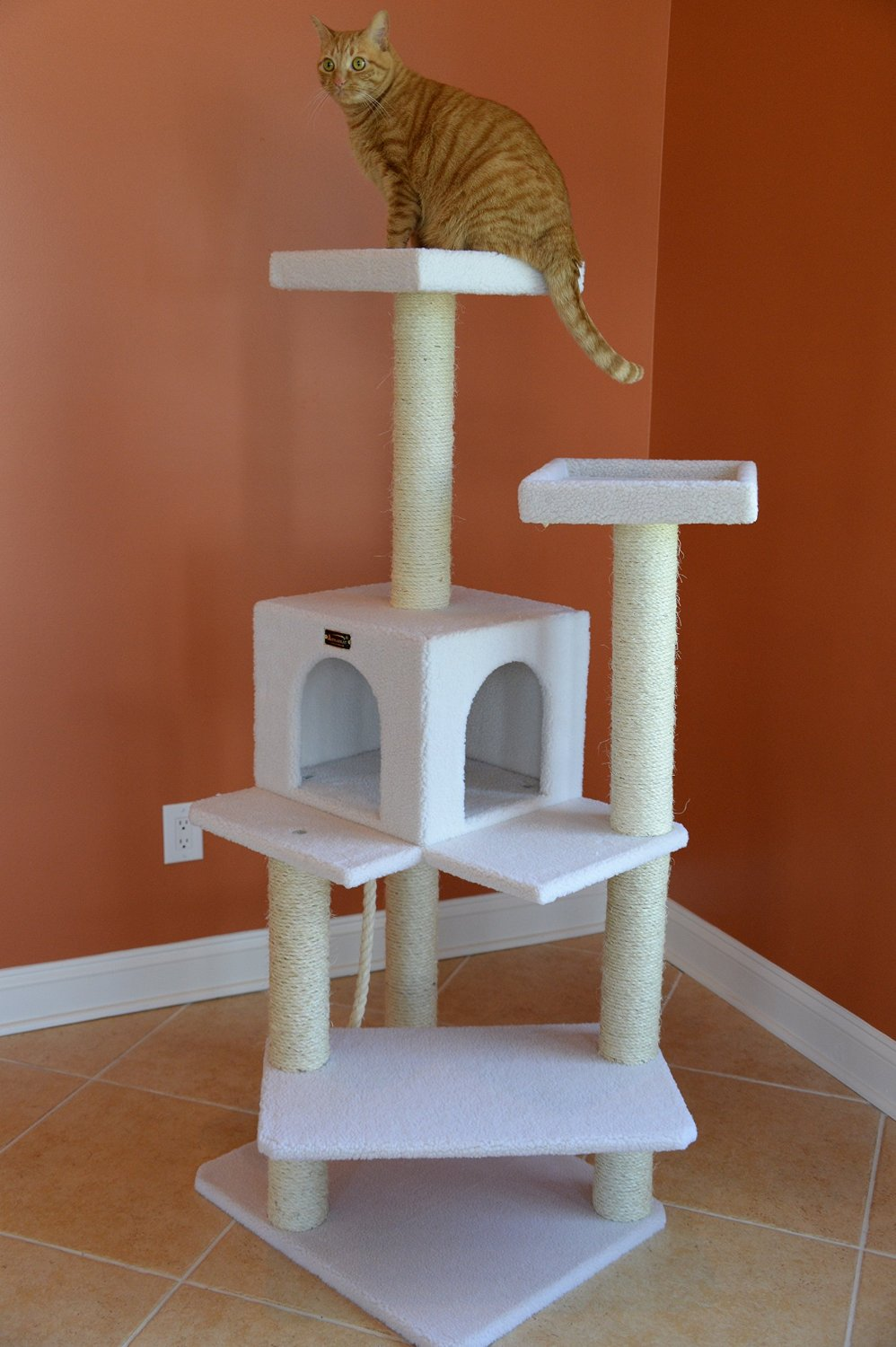 Armarkat Cat Tree Furniture Condo Crazy Cat Lady Supplies