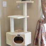 Armarkat Cat tree Furniture Condo, Height -50-Inch to 60-Inch