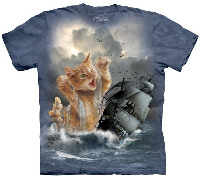 The Mountain Undercover Kittens T Shirt Crazy Cat Lady