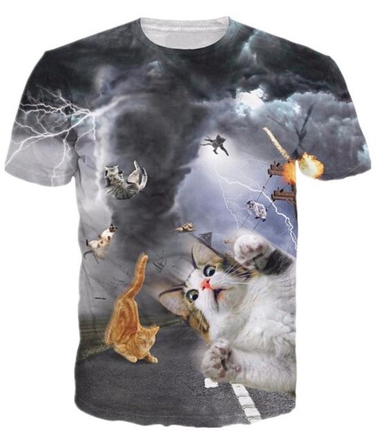 Storm Kitties Tee
