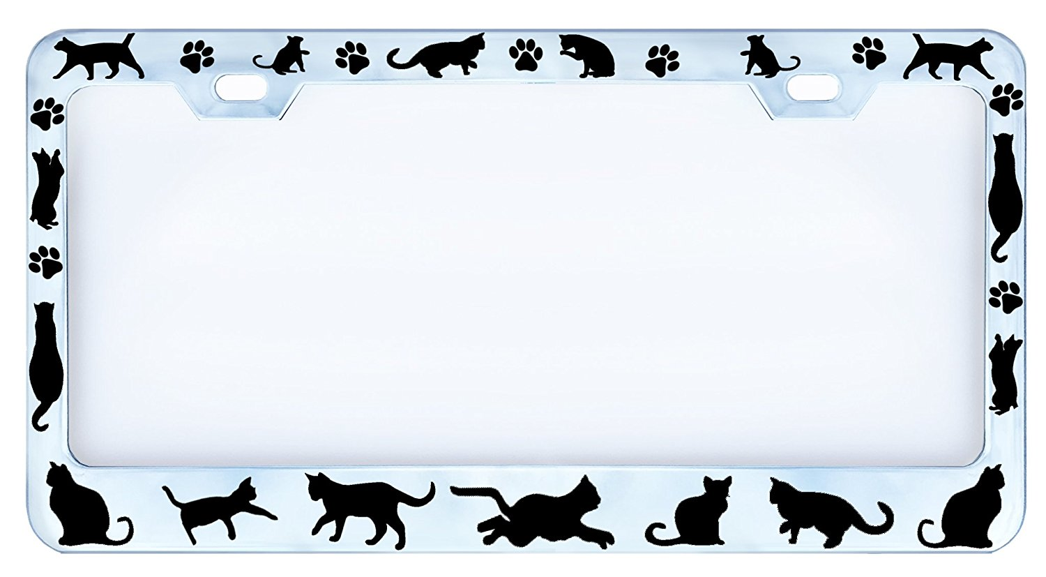 Cat Car Tag Frame