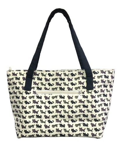 Cute cat tote