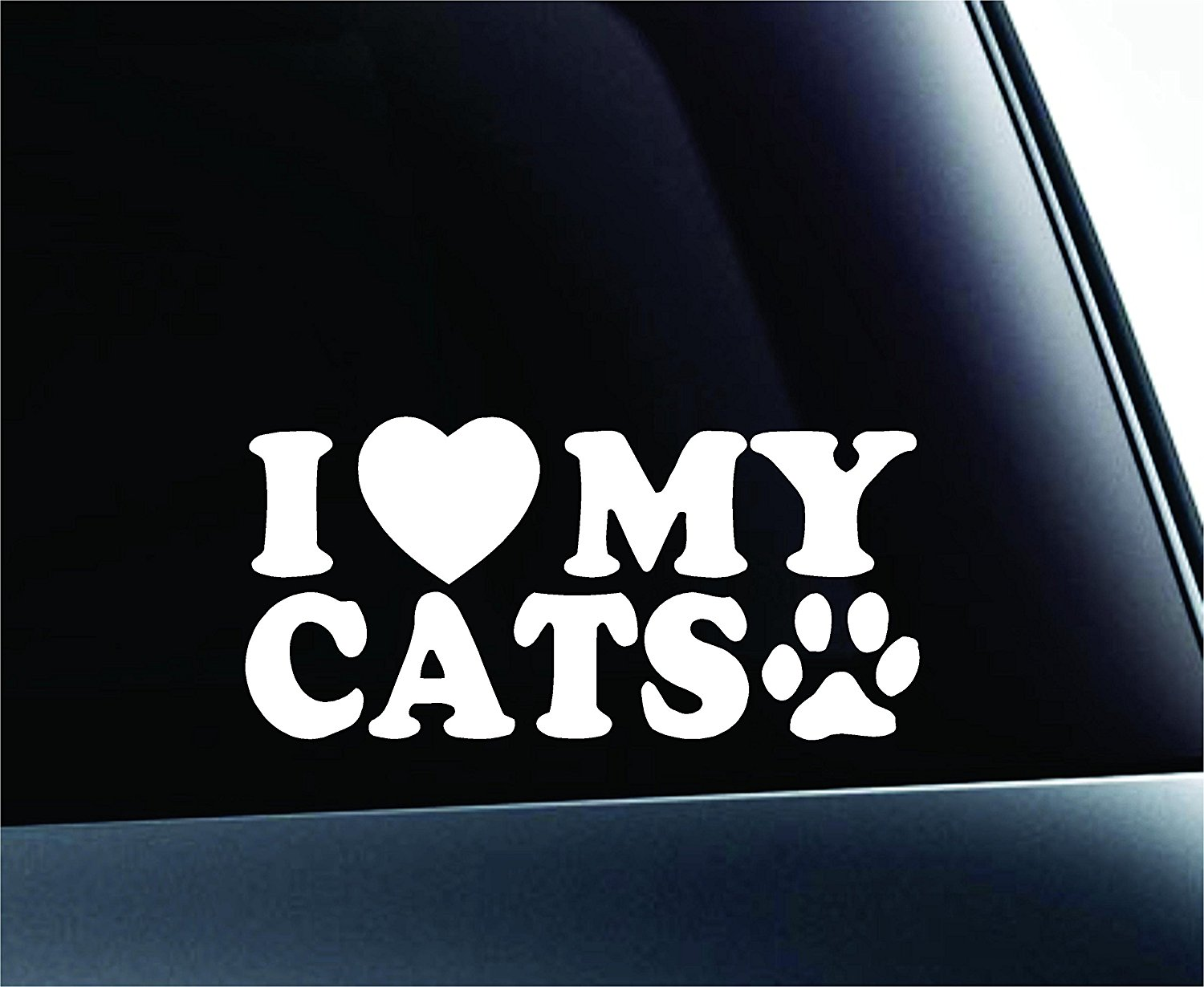Cat Car Decal
