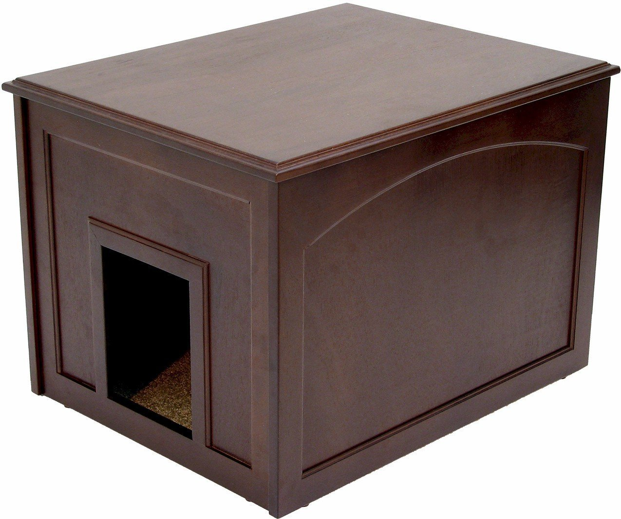 cat box cabinet crown pet products cat litter cabinet cat 13286