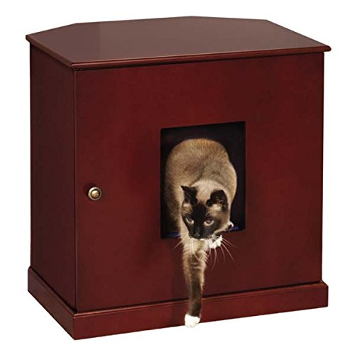 cat box cabinet pet stuff company litter chest cat 13286