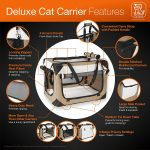 PetLuv Deluxe cat carrier