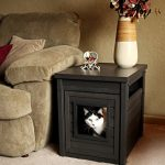 Cat Litter Box Enclosure End Table