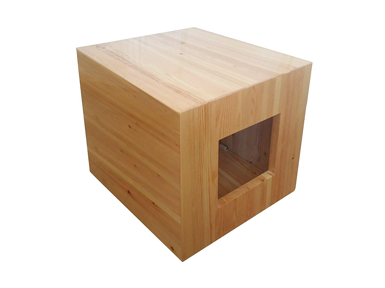 Philociety Fully Assembled Enclosure Cat Litter Box