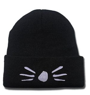 JRICK Dan and Phil Cat Whiskers Logo Beanie
