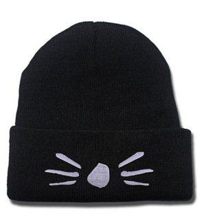 JRICK Dan and Phil Cat Whiskers Logo Beanie