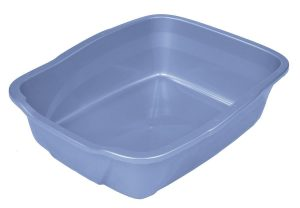 Pureness Giant Cat Litter Pan, Assorted Colors