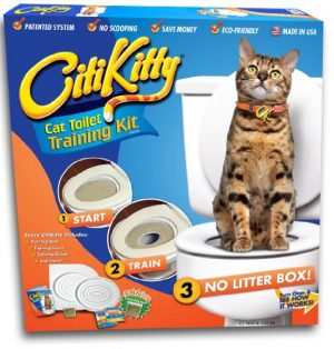 "CitiKitty ""As Seen on Shark Tank"" Cat Toilet Training Kit"